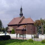 Image: The church of St. James the Apostle in Więcławice