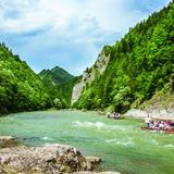 Image: Route 39: Through the Dunajec Gorge by bicycle
